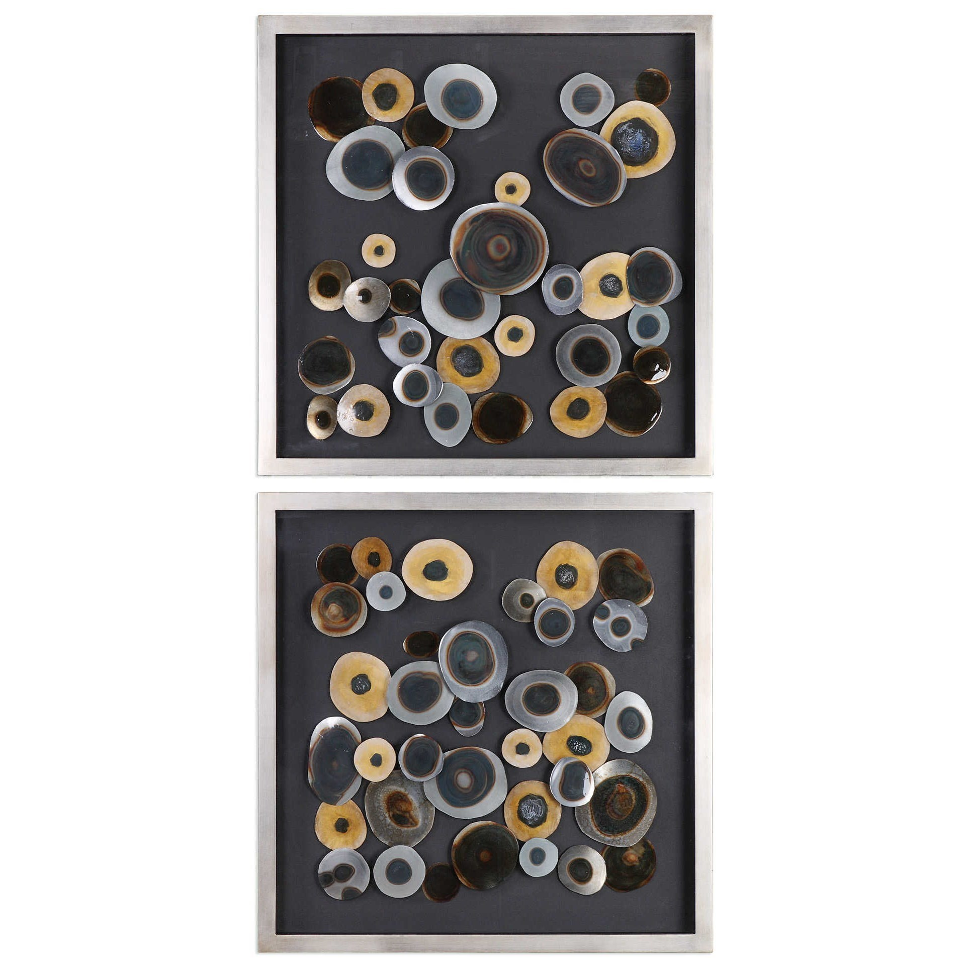 Best Uttermost Alternative Wall Decor Discs Wall Art Squares This Month