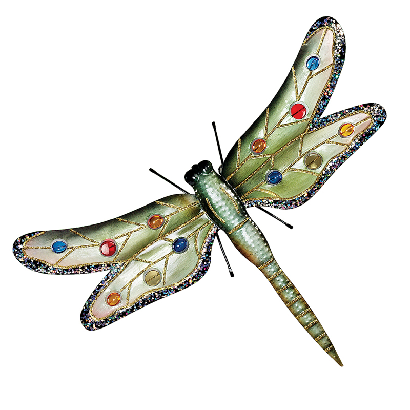 Best Design Toscano Oversized Dragonfly Metal Wall Sculpture Wall Art At Hayneedle This Month