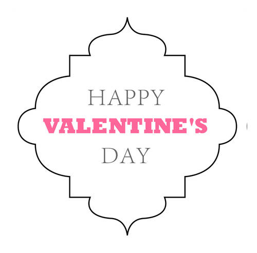Best Happy Valentines Day Decorative Label Printable Label This Month