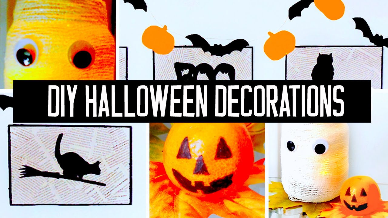 Best Super Easy Affordable Diy Halloween Decorations For Your This Month