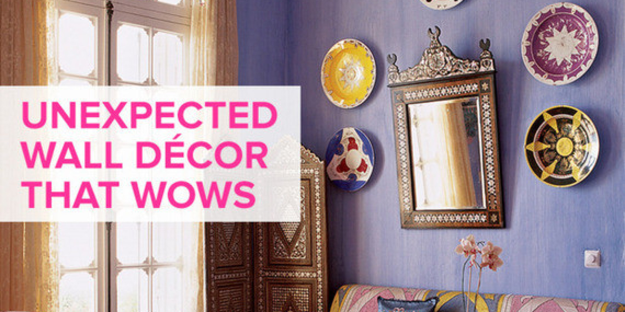 Best Unexpected Wall Décor That Wows Domino This Month