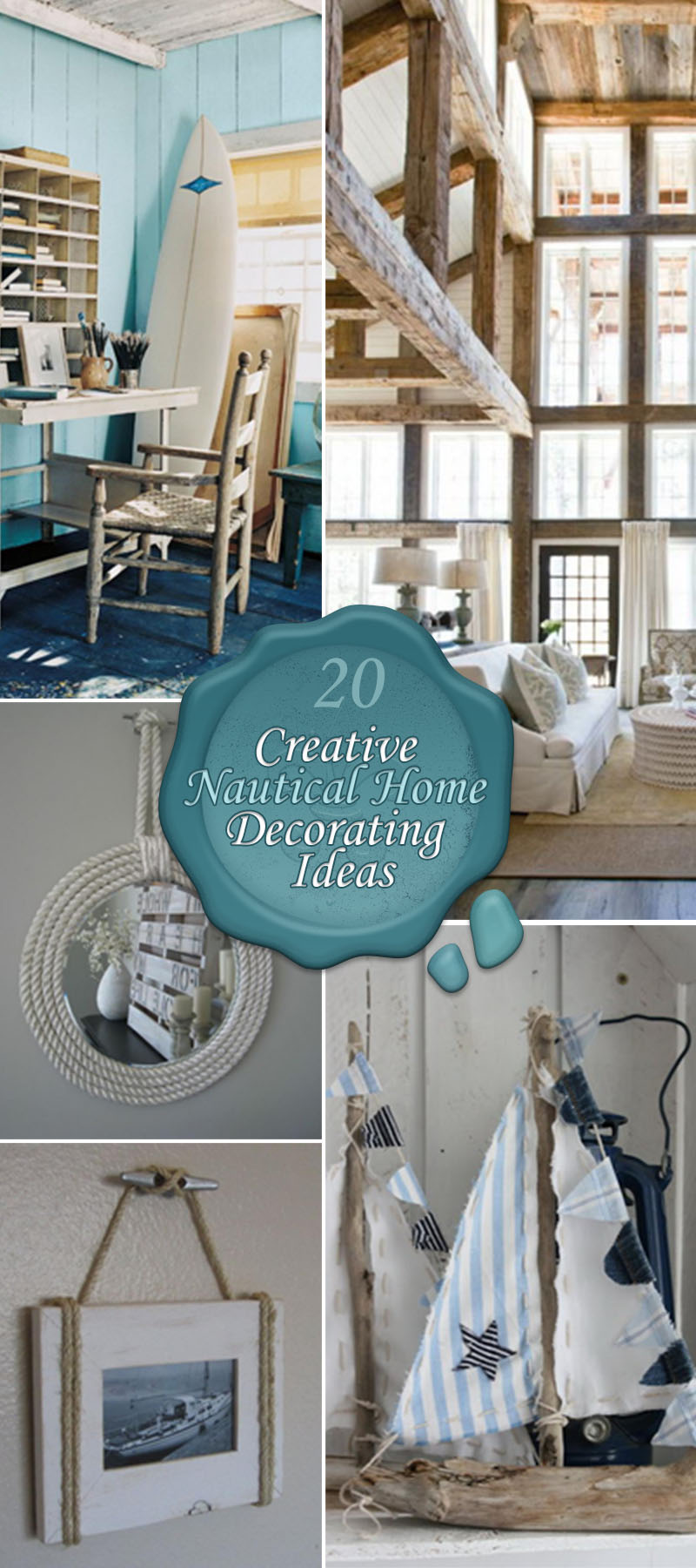 Best 20 Creative Nautical Home Decorating Ideas Hative This Month