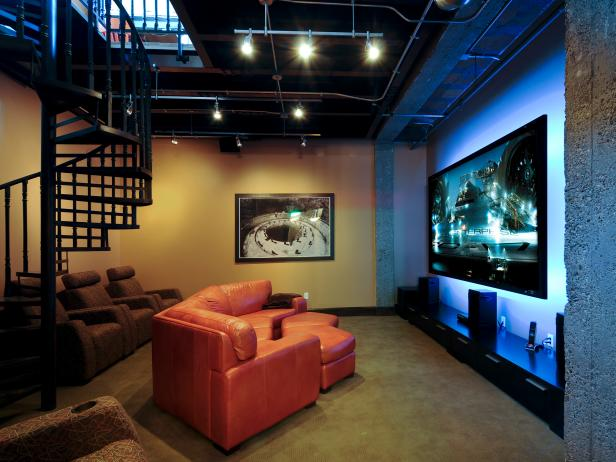 Best 20 Must See Media Room Designs Hgtv This Month