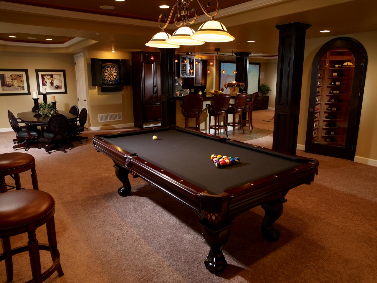 Best Ideas For Basement Rooms Hgtv This Month