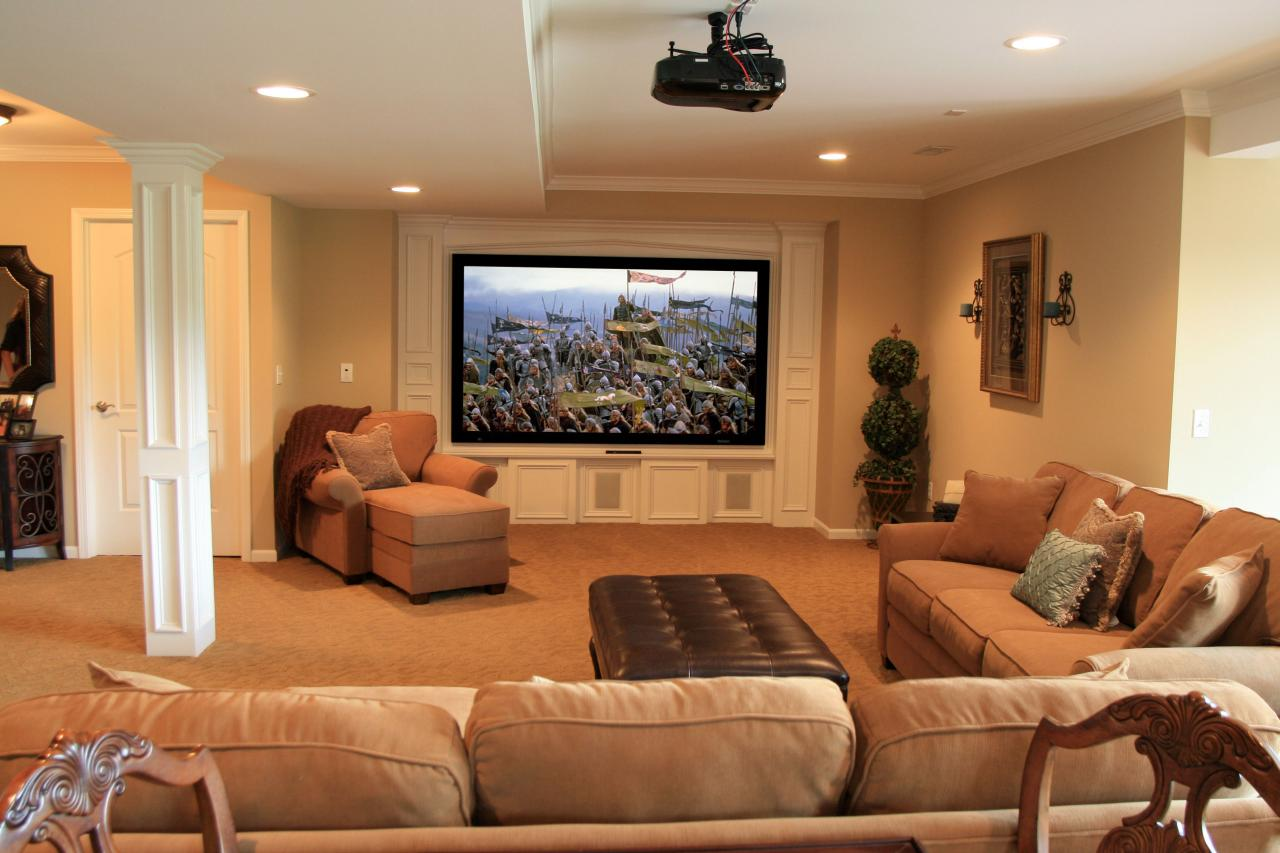 Best Basement Design And Layout Hgtv This Month