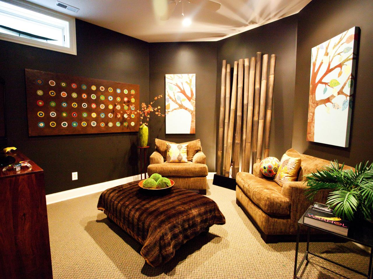Best Media Room Decor Pictures Options Tips Ideas Hgtv This Month