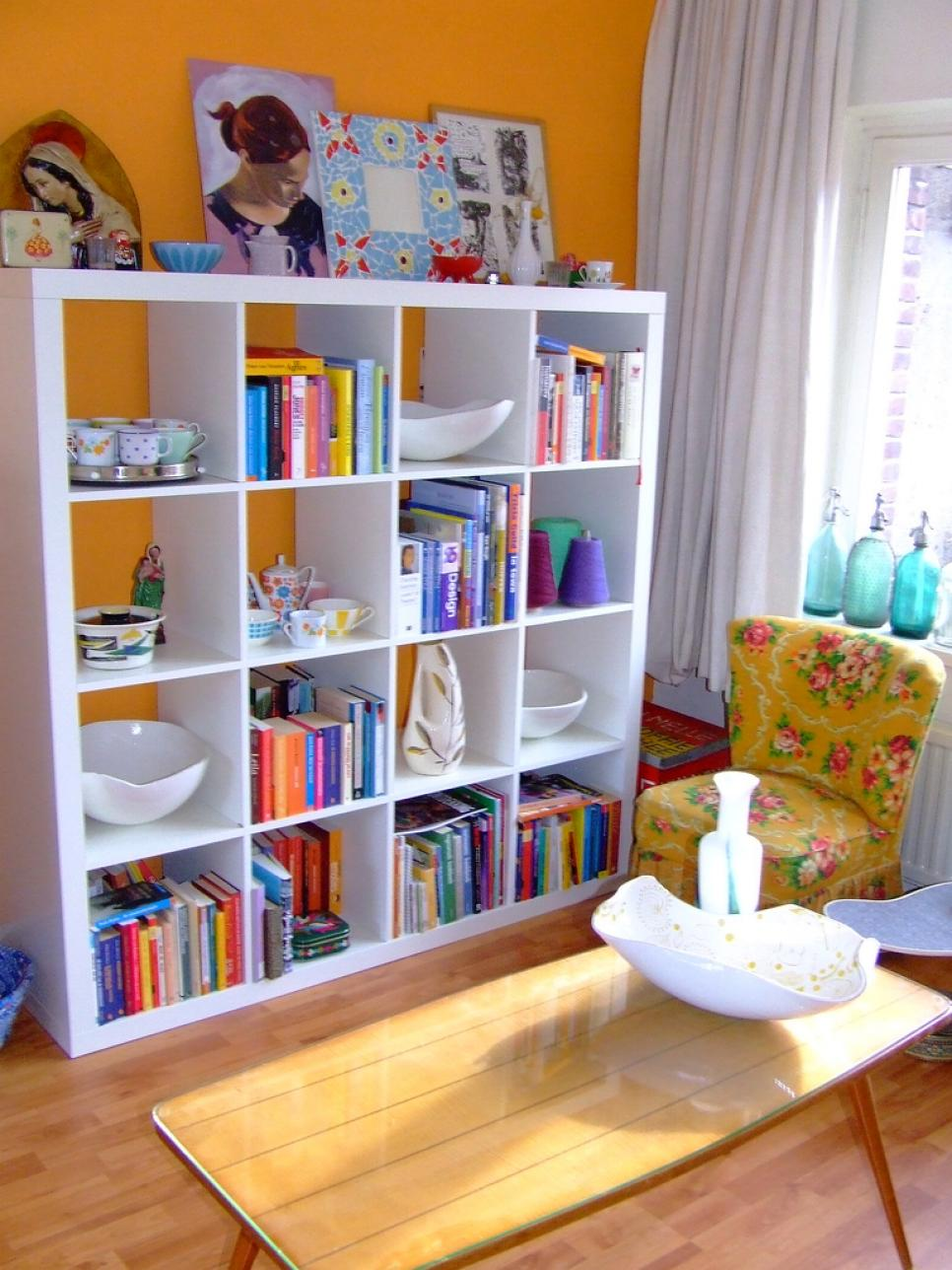 Best Bookshelf And Wall Shelf Decorating Ideas Hgtv This Month