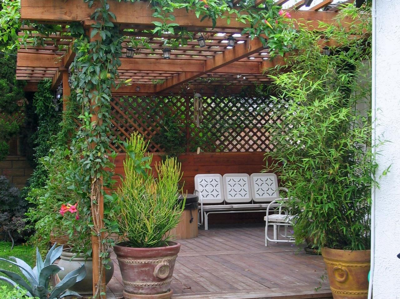 Best How To Build A Wood Pergola Hgtv This Month