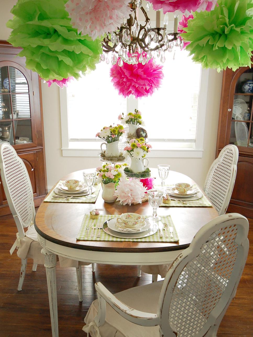 Best Colorful Spring Table Setting Hgtv This Month
