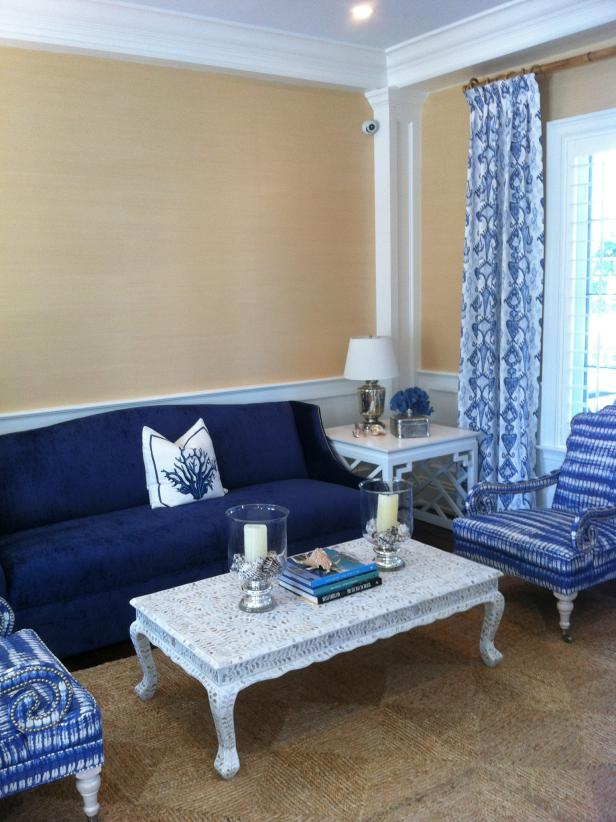 Best Cool Down Your Design With Blue Velvet Furniture Hgtv S This Month