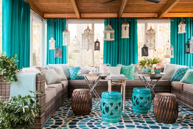 Best Small Screened In Porch Decorating Ideas Hgtv This Month