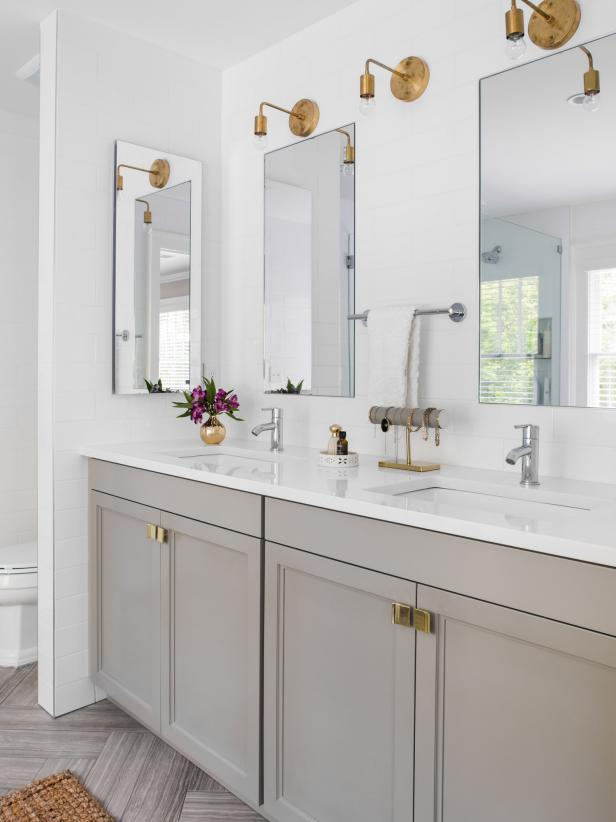 Best Cheap Ways To Freshen Up Your Bathroom Countertop Hgtv This Month