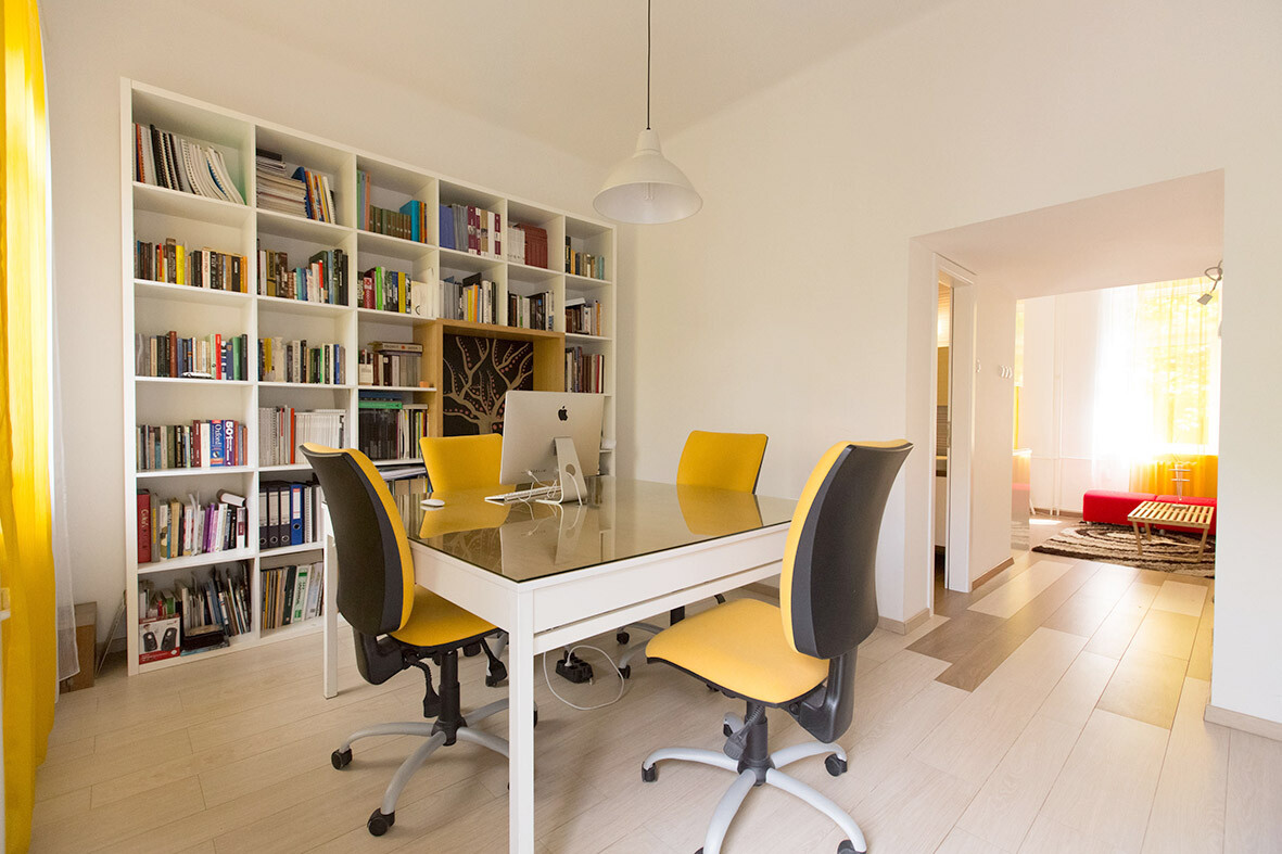 Best Studio Apartment Modified To Perform Two Functions Office This Month