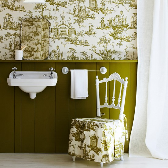 Best Bathroom Wallpapers Housetohome Co Uk This Month