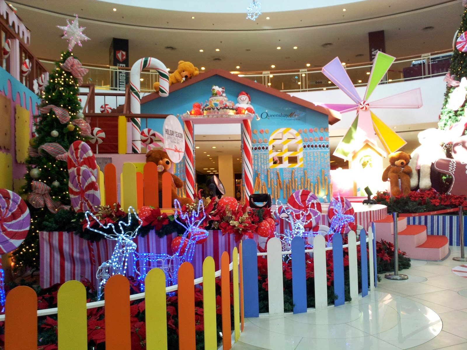 Best M4Sh3D Christmas Decorations At Queensbay Mall Penang This Month