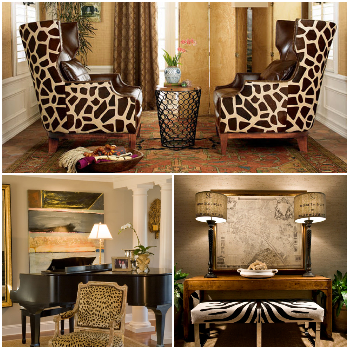 Best Animal Print Pattern Trend Out Of Africa And Into Your This Month