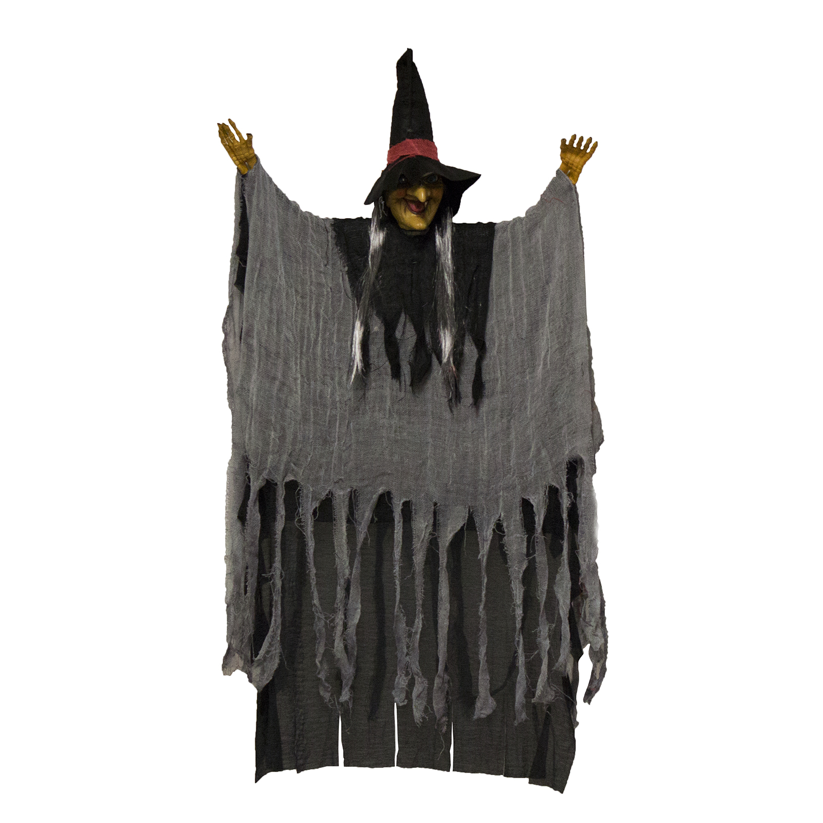 Best Scary Flashing Howling Light Up Led Hanging Witch Figure This Month