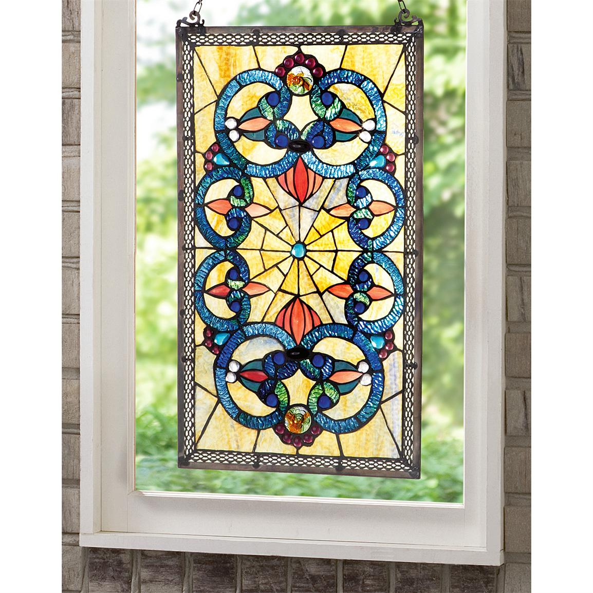 Best Corrista Tiffany Style Stained Glass Window Panel This Month