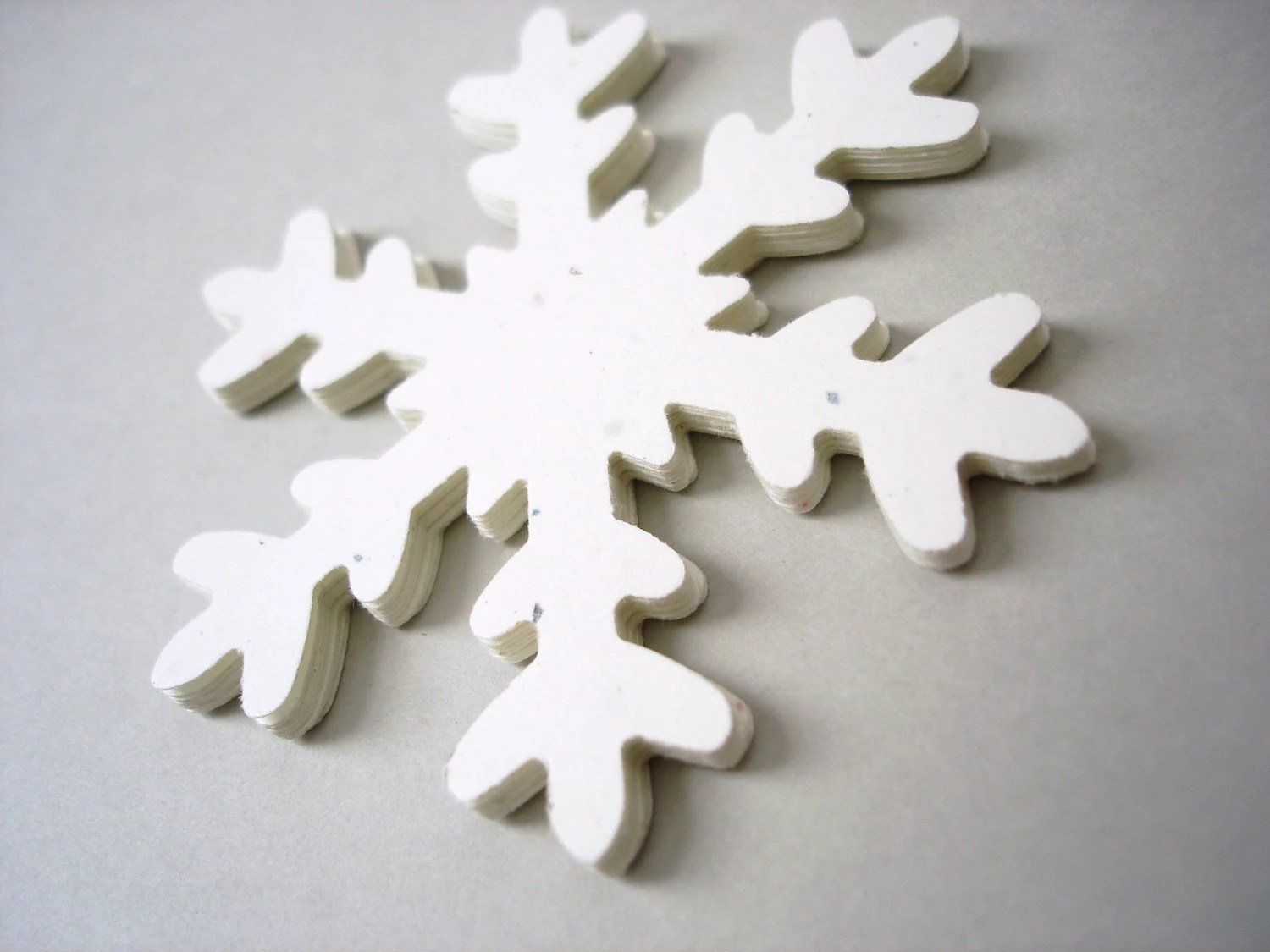 Best 10 Extra Large Stardust White Snowflake Die Cut By Belowblink This Month