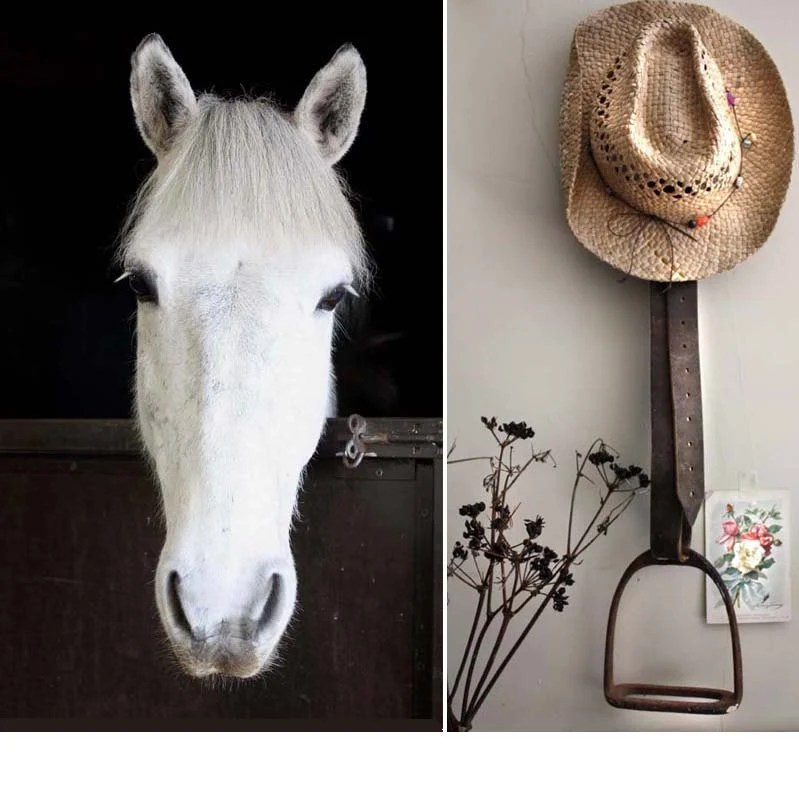 Best Diy Stirrup Projects On Pinterest Towel Holders Ranch This Month