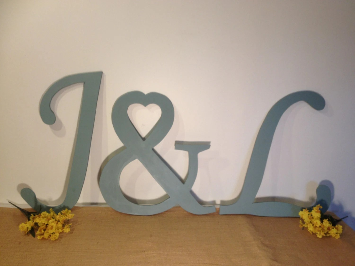 Best Large Wooden Letter Set Decorative Wall By Thedreamweddingshop This Month