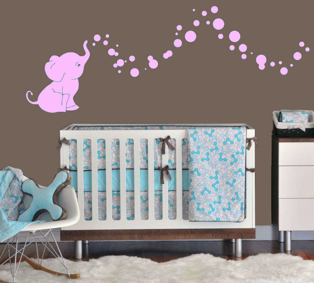 Best Elephant Bubbles Baby Wall Decal Vinyl Wall Nursery Room This Month