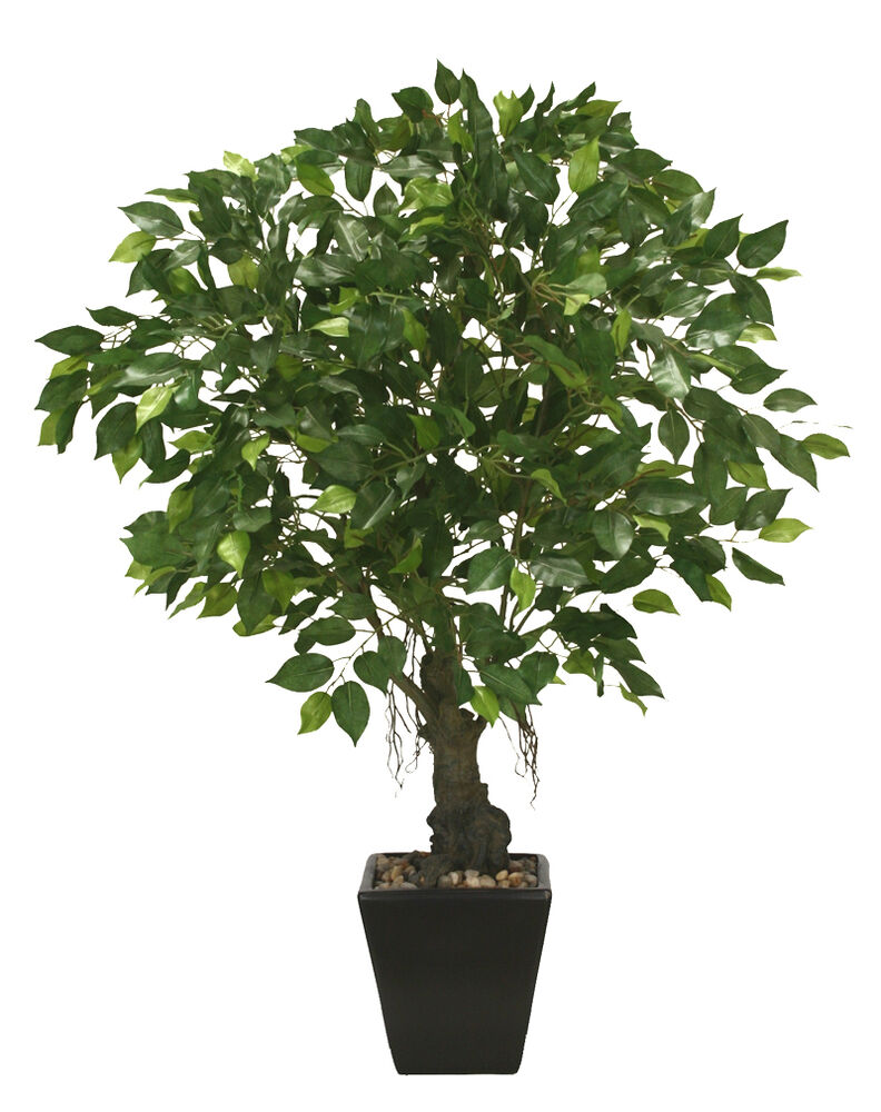 Best 30 Artificial Ficus Tree In P*T Silk Plant Decor Ebay This Month