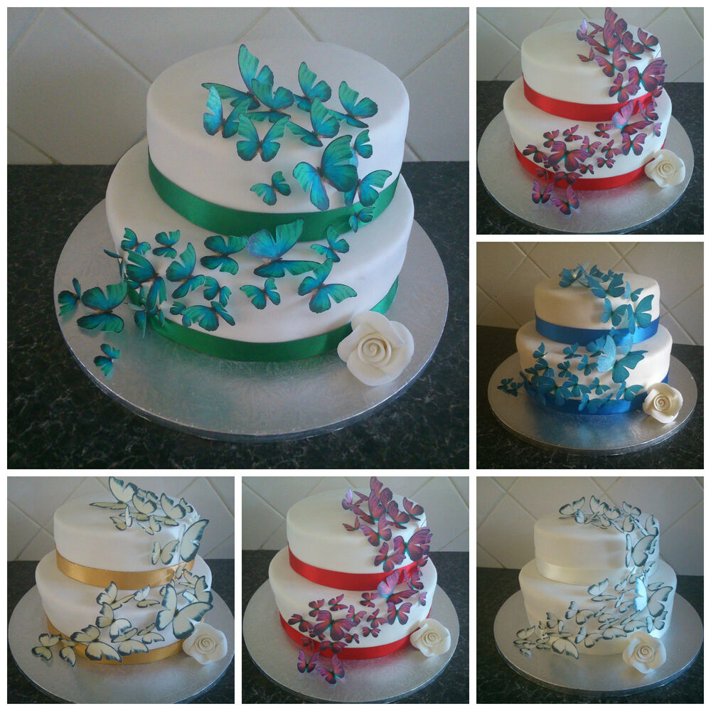 Best Wedding Cake Toppers Edible Butterfly Decorations Multiple This Month