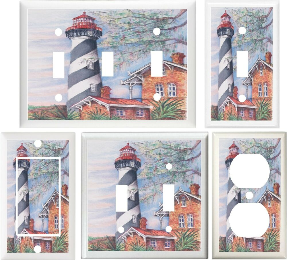 Best Lighthouse Nautical New England Style Home Decor Switch Or This Month