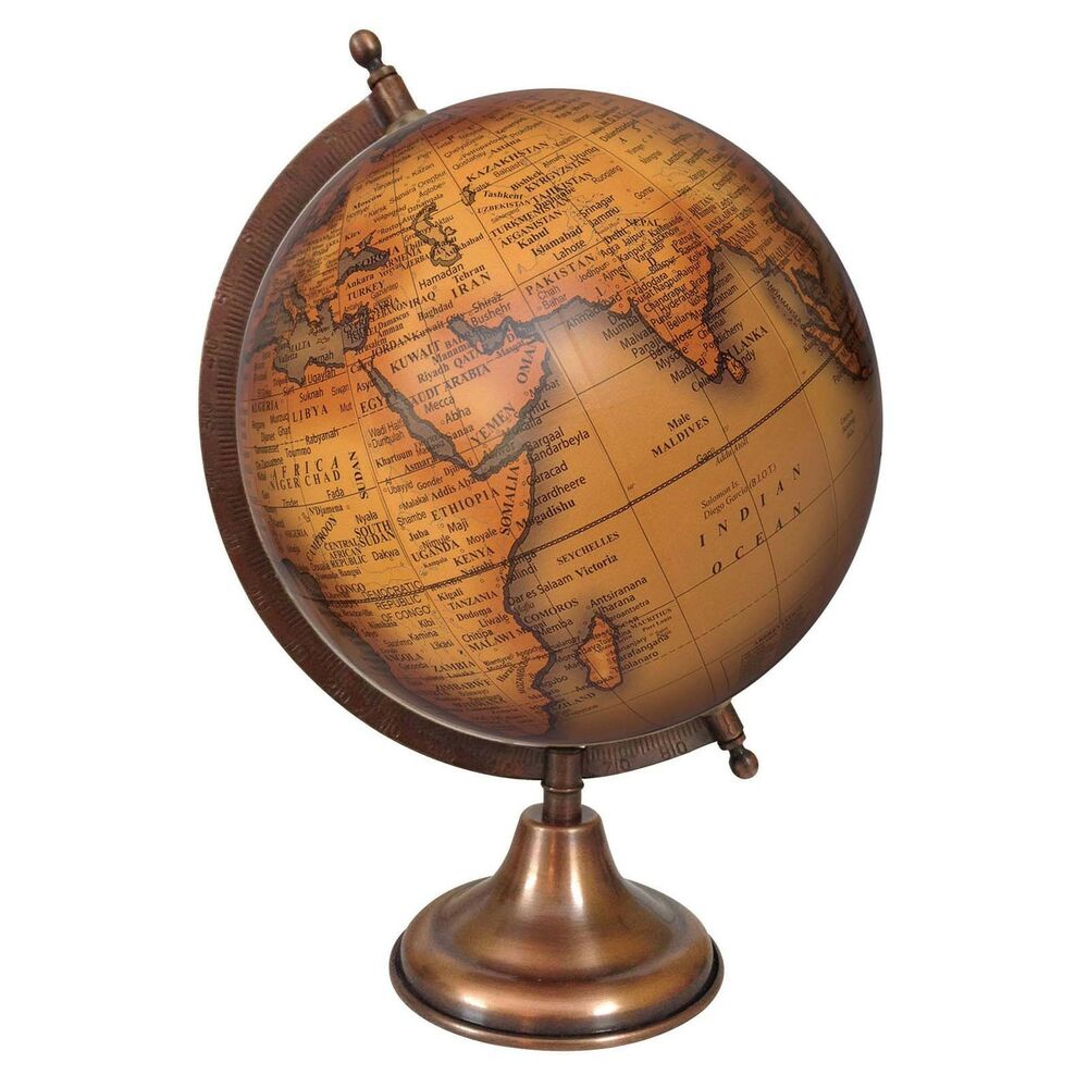 Best Rotating Globe World Geography Earth Big Decorative Ocean This Month