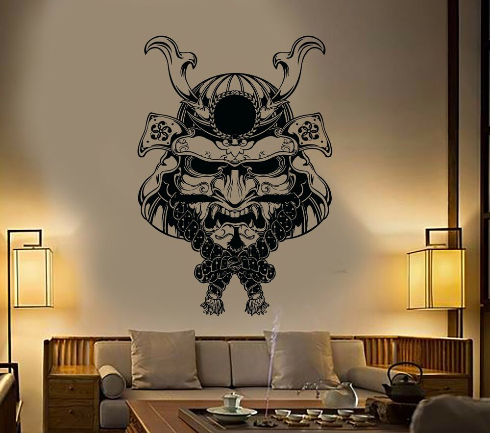 Best Wall Stickers Vinyl Decal Samurai Mask Japan Japanese This Month