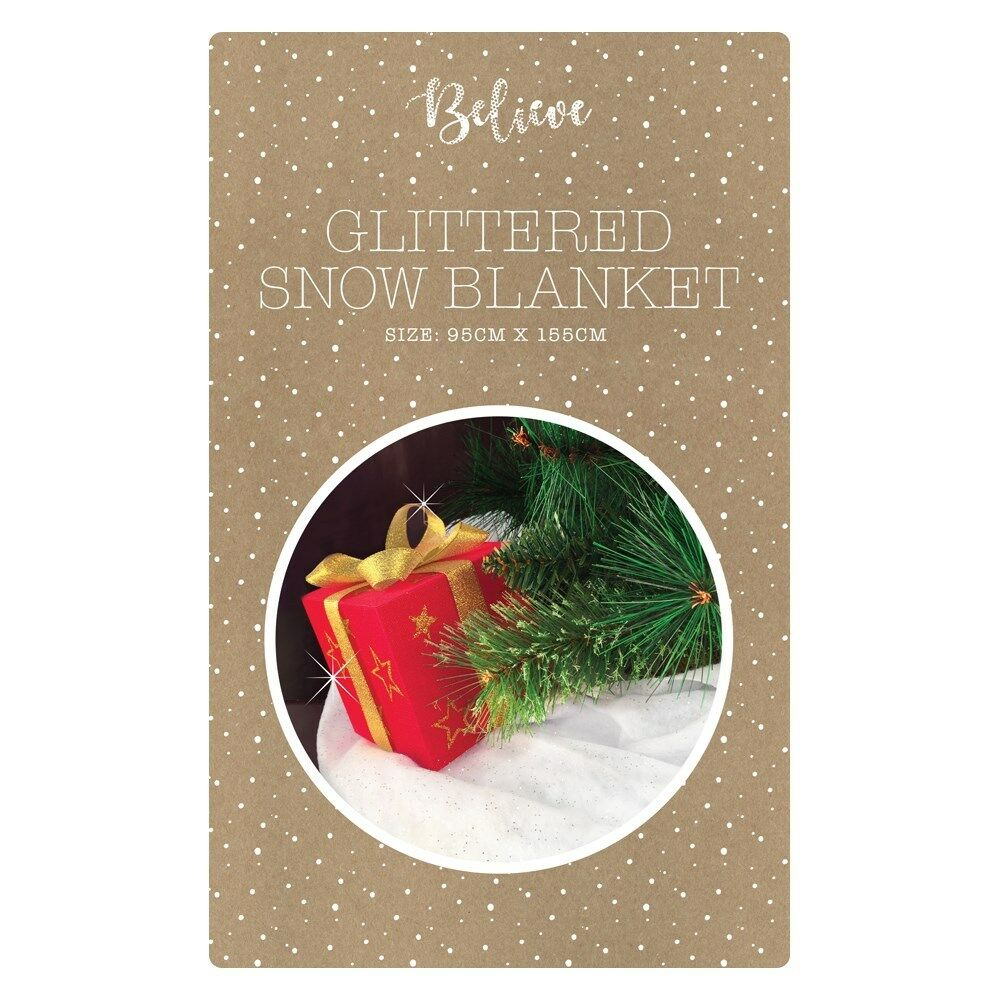 Best Snow Blanket Glitter Christmas Decoration Artificial Fake This Month