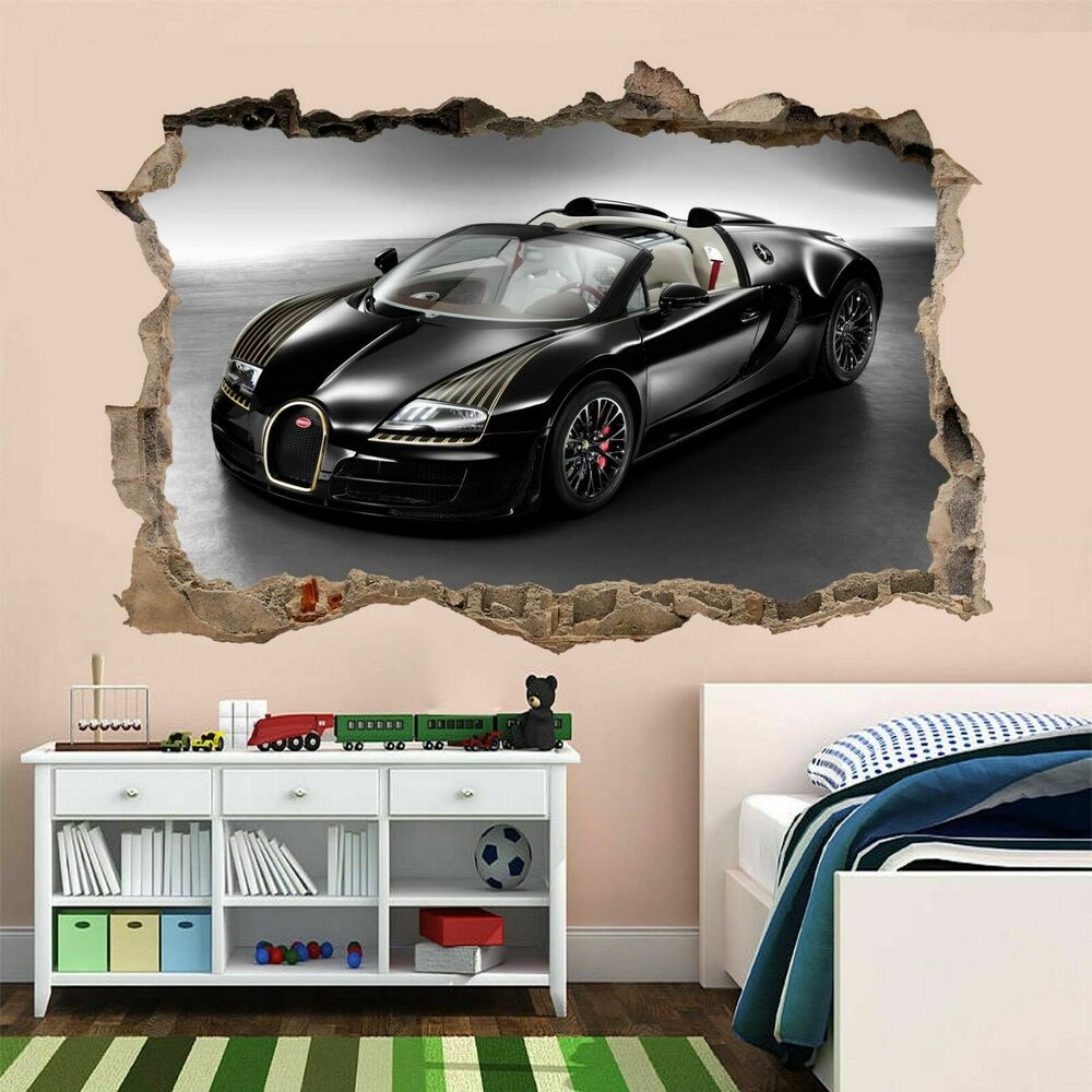 Best Bugatti Car Wall Art Stickers Mural Kids Bedroom Home This Month