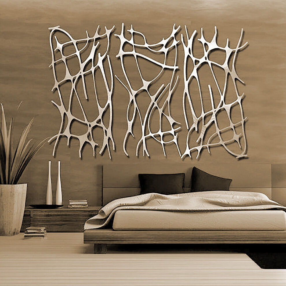 Best Abstract Stainless Steel Wall Sculpture Art Metal Decor This Month