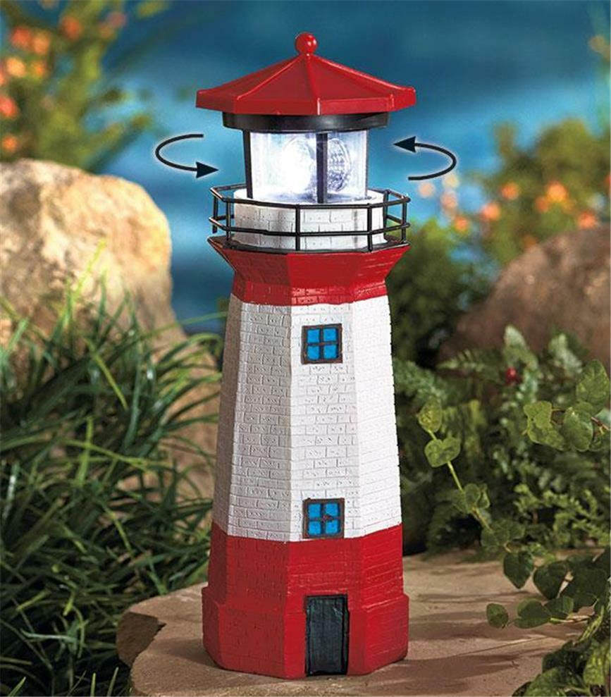 Best Realistically Detailed Solar Rotating Lamp Lighthouse This Month