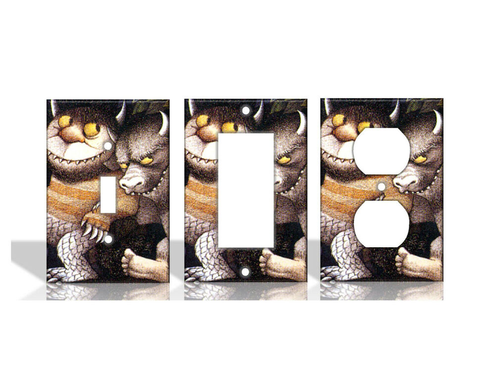 Best Where The Wild Things Are Light Switch Covers Home Decor This Month