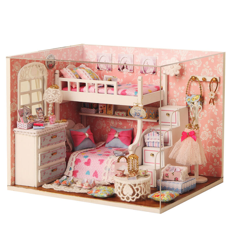 Best Kits Diy Wood Dollhouse Miniature With Furniture Doll This Month
