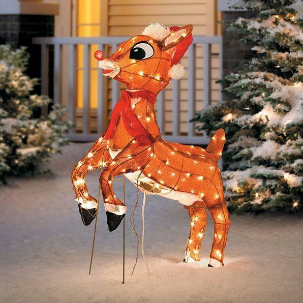 Best Sale Outdoor Pre Lit Lighted Animated Rudolph Reindeer This Month