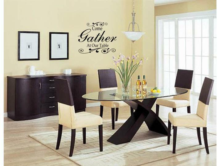 Best Come Gather At Our Table Wall Art Decal Decor Kitchen This Month
