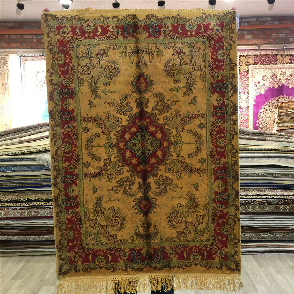 Best 2X3 Small Handmade Oriental Rugs Home Decorative Persian This Month