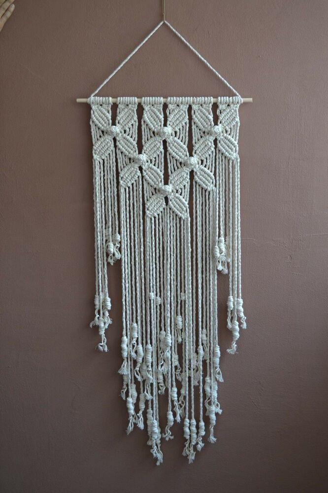 Best Home Decorative Modern Macrame Wall Hanging Ebay This Month