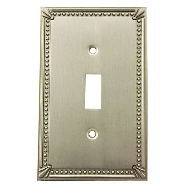 Best Satin Nickel Single Toggle Decorative Wall Switchplate This Month
