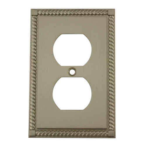 Best Satin Nickel Single Duplex Outlet Decorative Wall This Month