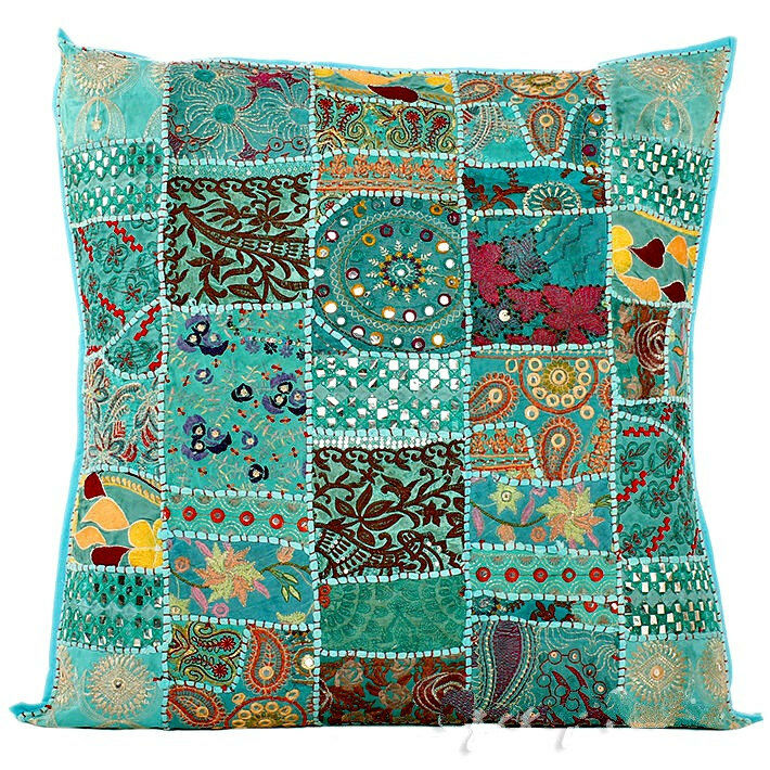 Best 24 Extra Large Blue Gypsy Throw Pillow For Couch This Month
