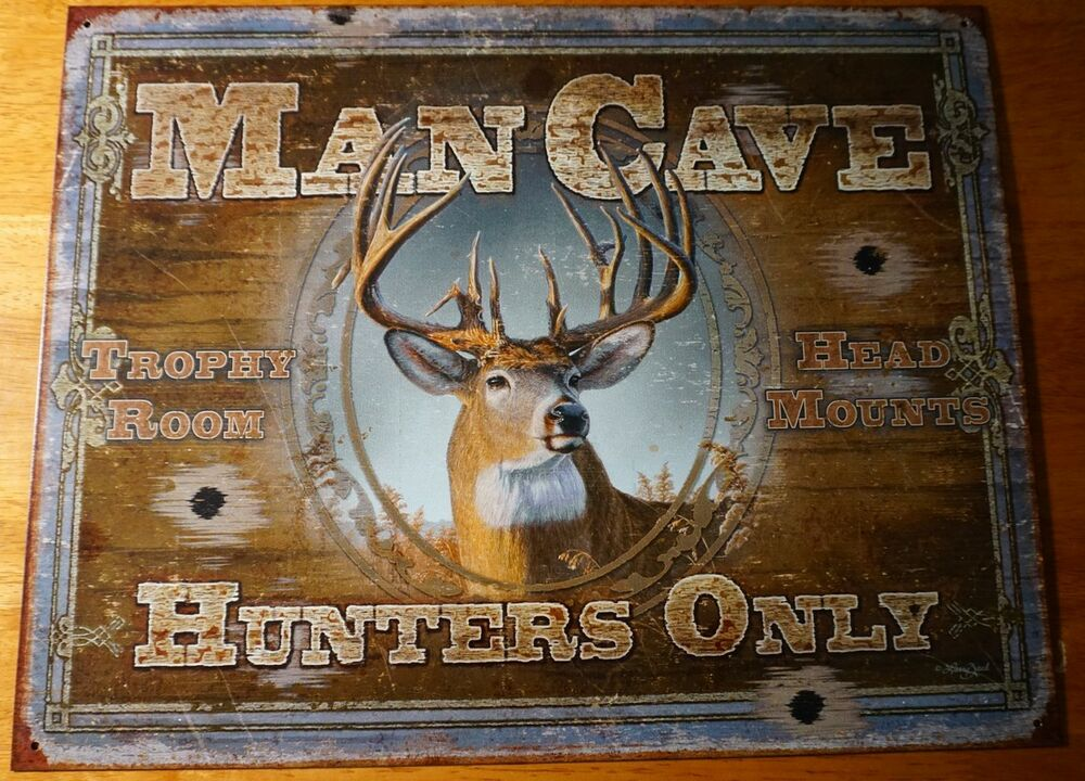 Best Man Cave Hunters Only Deer Buck Hunting Cabin Home Decor This Month