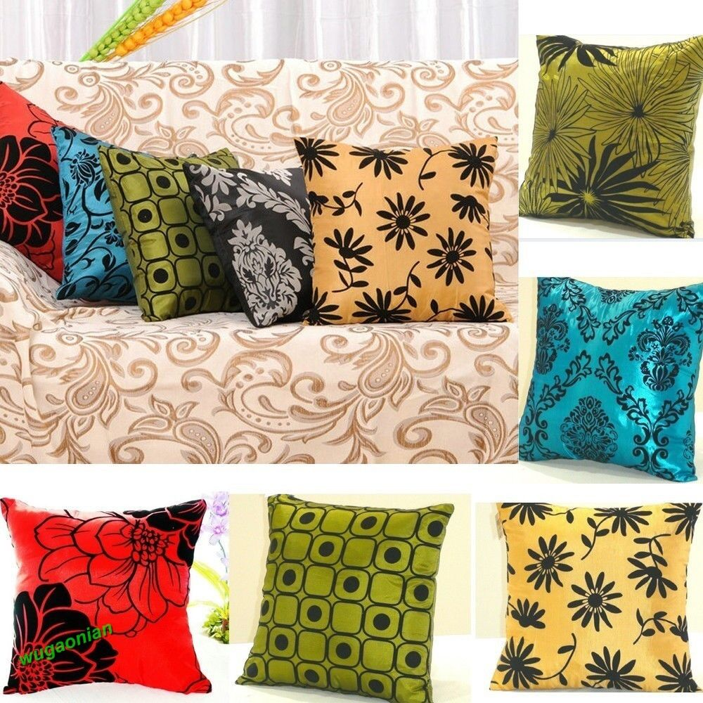 Best New Square Pillowcases Bed Sofa Throw Pillow Cases Car This Month