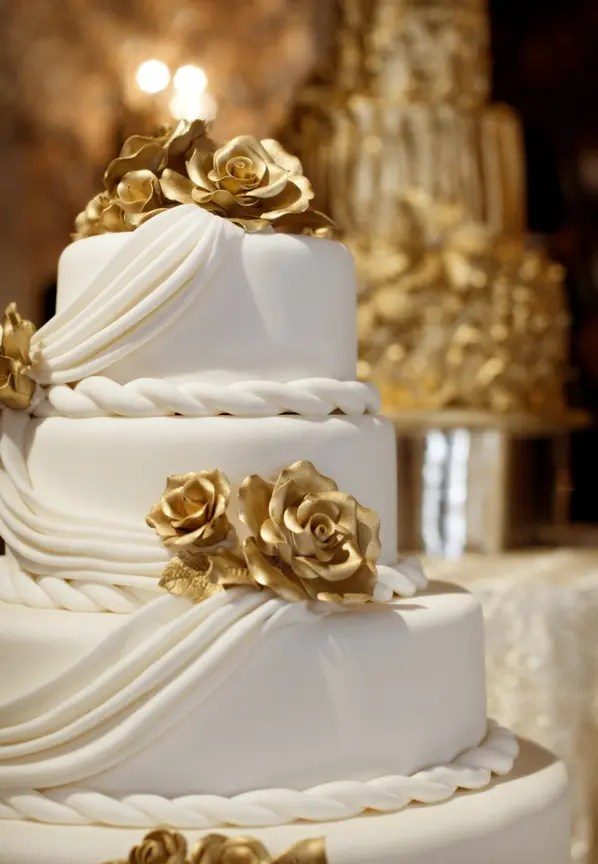 Best Picture Of Exquisite Gold And White Wedding Ideas This Month