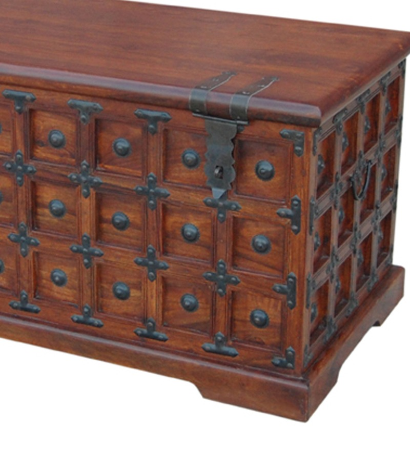 Best Rajputana Decorative Storage Trunk By Mudra Online This Month