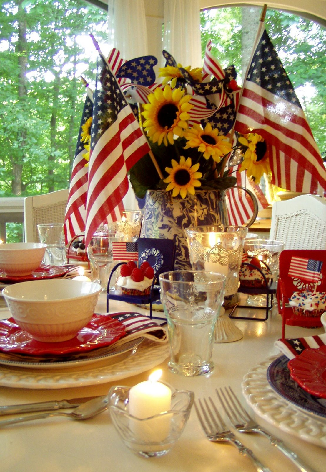 Best 4Th Of July Party And Table Setting Ideas This Month