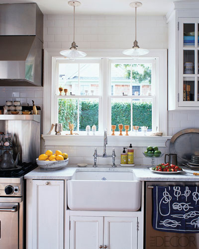 Best All White Dream Kitchen Elle Decor Made By Girl This Month